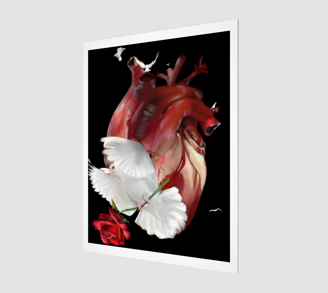The Love by W.D. Wind Art Print