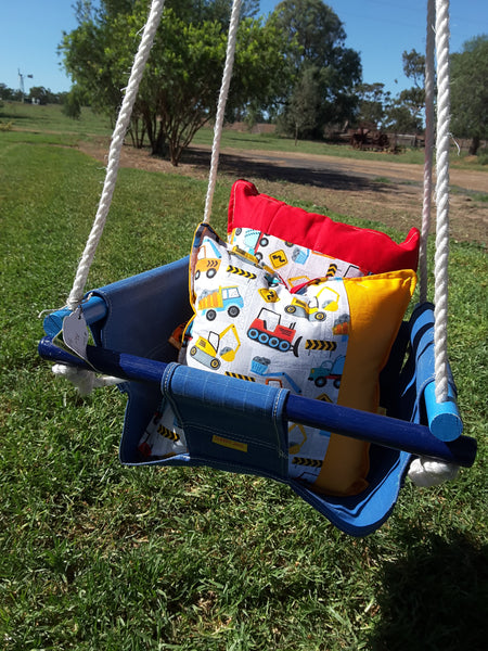 COLOURED CANVAS SWINGS
