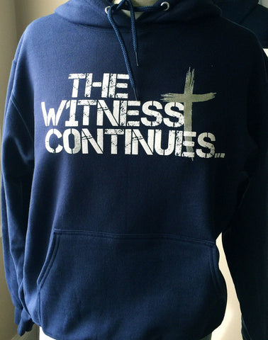 The Witness Continues Hoodie