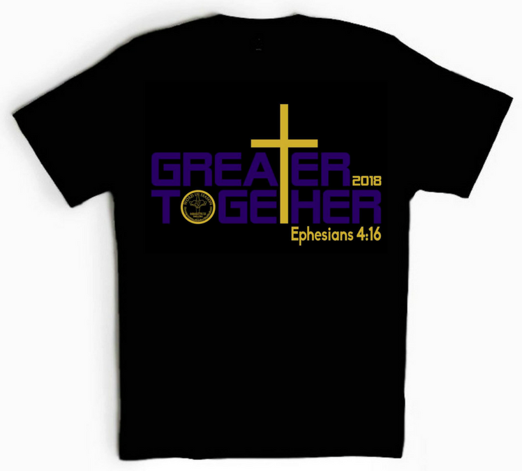 Greater Together 2018 Adult T-Shirts