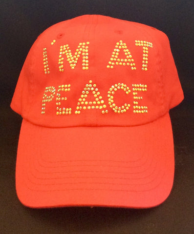 Women's Cap, I'm At Peace