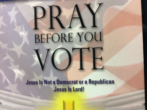 Pray Before You Vote (book)