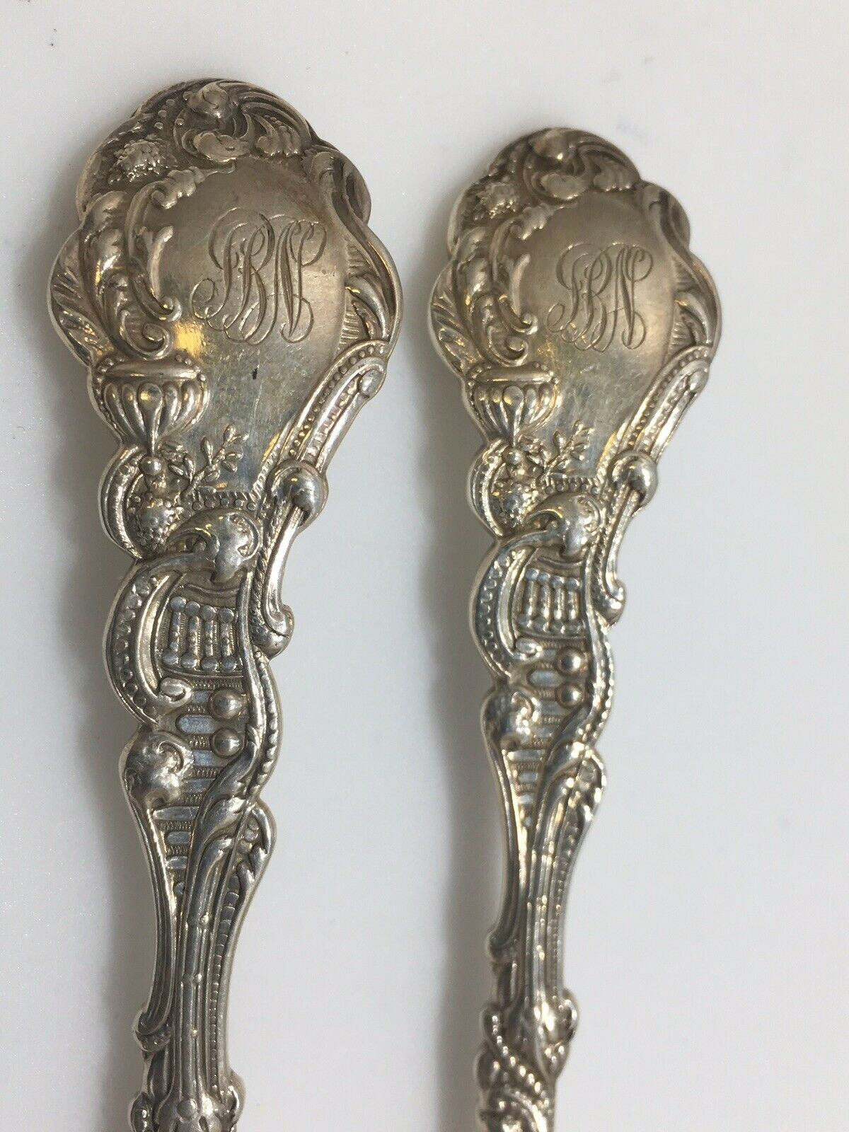 11 Antique Gorham Versailles Grapefruit  Citrus spoons