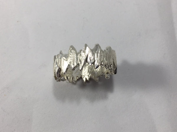 Sterling Silver Men's Rock N' Roll Band