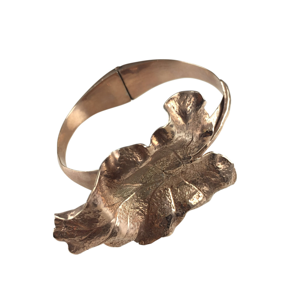 Autumn Leaf Cuff