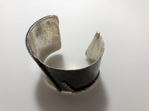 Black & White Diamond Cuff