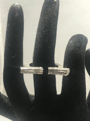 Sterling Silver Spaced Out Ring