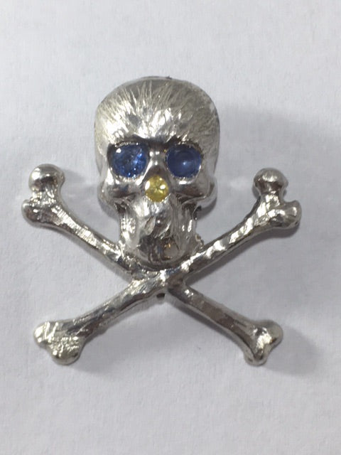 Skully Lapel Pin