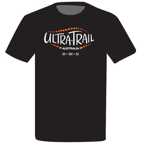 Cotton UTA BLACK T-shirt - WOMEN'S