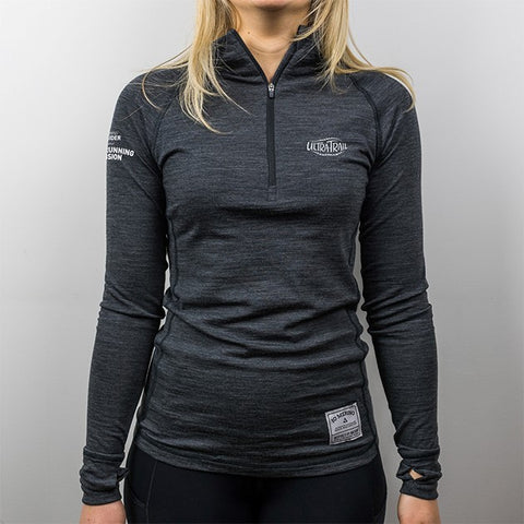 UTA branded Altitude Zip Base Layer - WOMEN'S