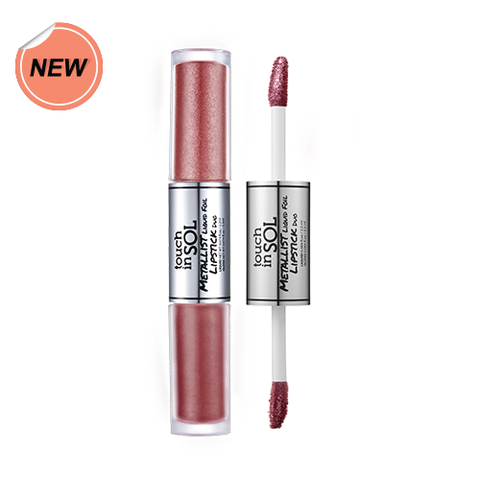 Touch in Sol Metallist Liquid Foil Lipstick Duo #10 Bonita