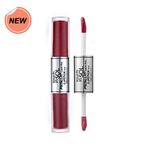 Touch in Sol Metallist Liquid Foil Lipstick Duo #13 Rebecca