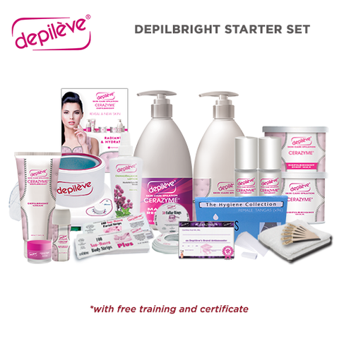 Depileve Depilbright Starter Set ( ₱19,314 Value )