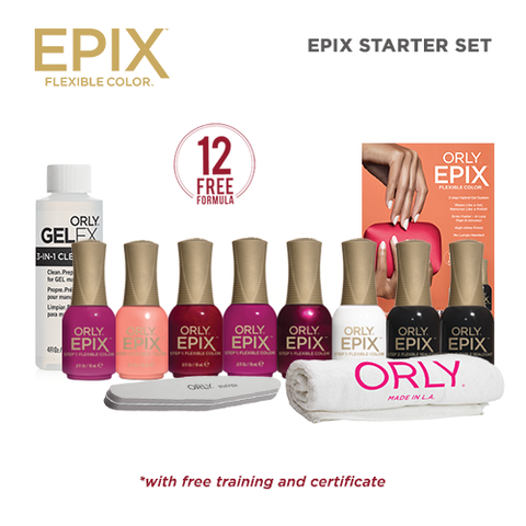Orly EPIX Starter Set ( ₱5,700 Value )