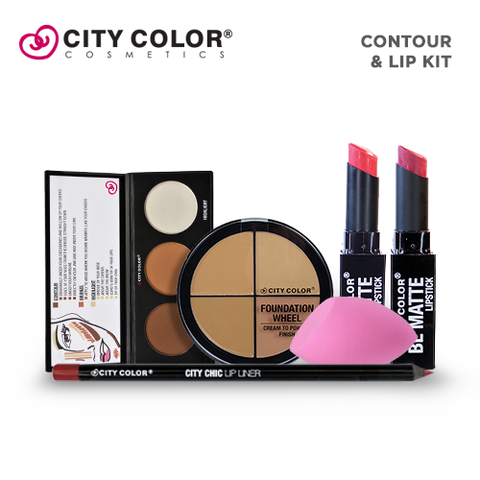 City Color Salon Surprise 3 - Contour and Lip Kit ( ₱1,744.00 Value )
