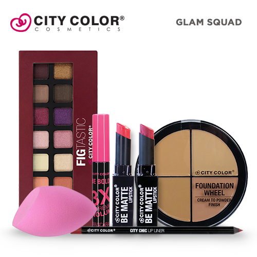 City Color Salon Surprise 2 - Glam Squad ( ₱1,943.00 Value )