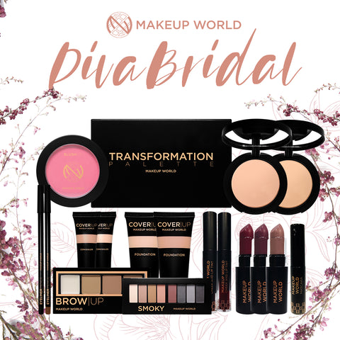 MakeUp World Diva Bridal Makeup Package ( ₱3,610.00 Value )