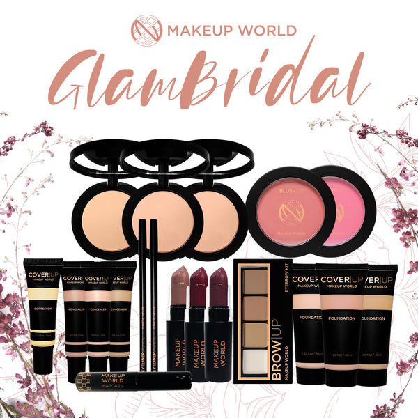 MakeUp World Glam Bridal Makeup Package ( ₱4,670.00 Value )