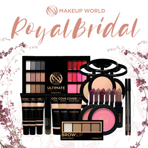 MakeUp World Royal Bridal Make Up Package ( ₱5,824.00 Value )