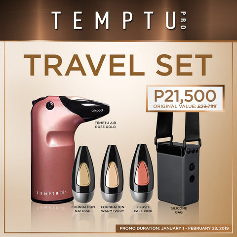 Temptu Air Travel Set (₱23,799 Value)