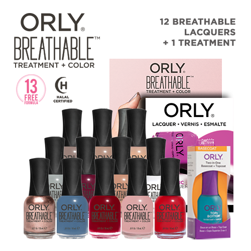 Orly Salon Surprise 12 Breathable + 1 Treatment