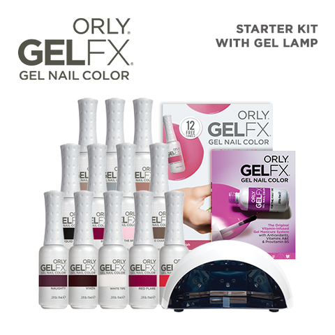 Orly Salon Surprise Gel Fx Starter Kit w/ LED Lamp