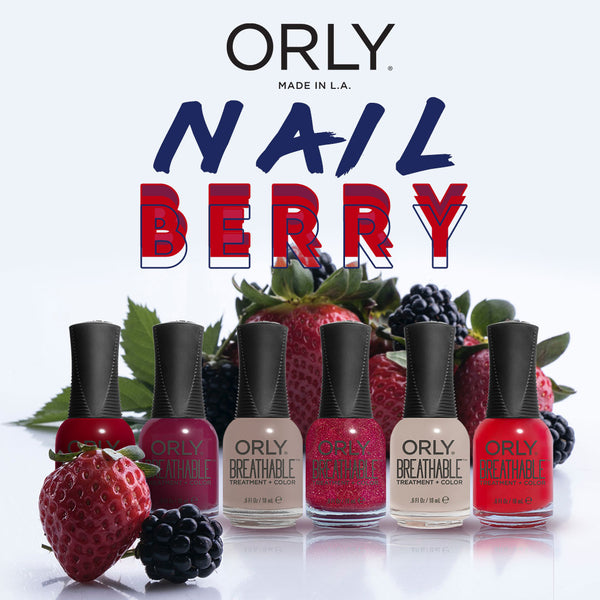 Orly Breathable Lacquer 5+1 Nail Berry