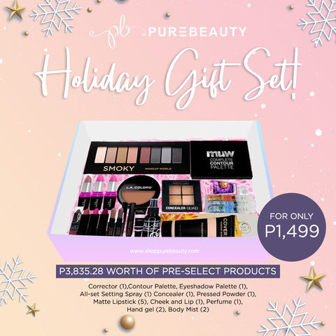 Purebeauty Holiday Gift Set 3
