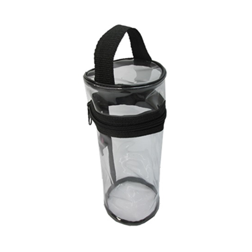 Donna B Cylinder New Clear Pouch