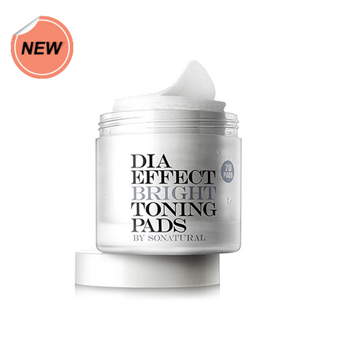 So Natural Dia Effect Bright Toning Pads