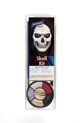 Graftobian Skull Makeup Kit
