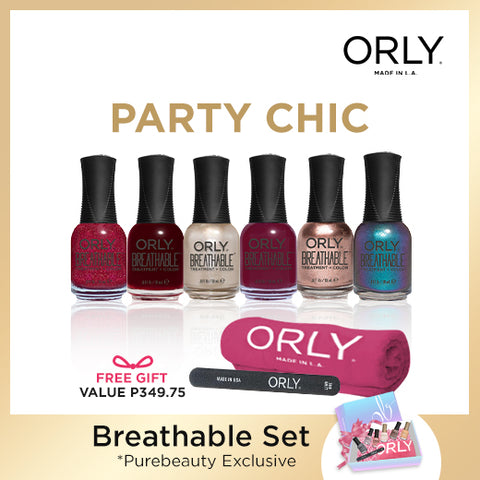 Orly Breathable Sets: Party Chic - 6pcs