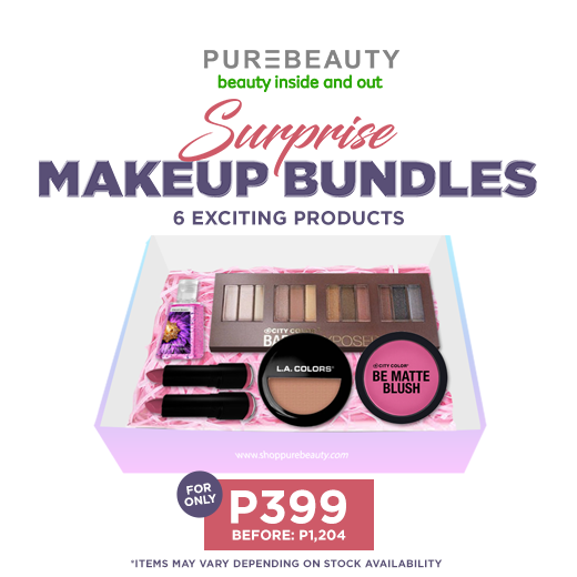 Purebeauty Suprise Makeup Bundles PBGIFT399