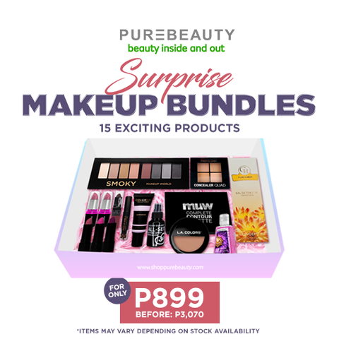 Purebeauty Suprise Makeup Bundles PBGIFT899