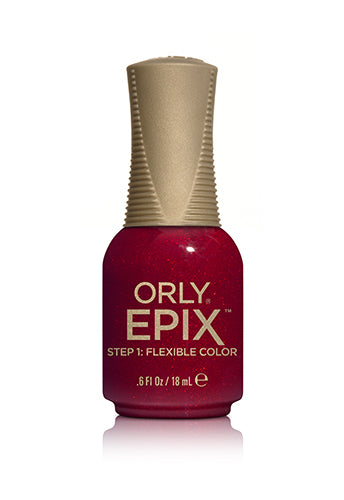 Orly Epix Flexible Color (Shades of Red)