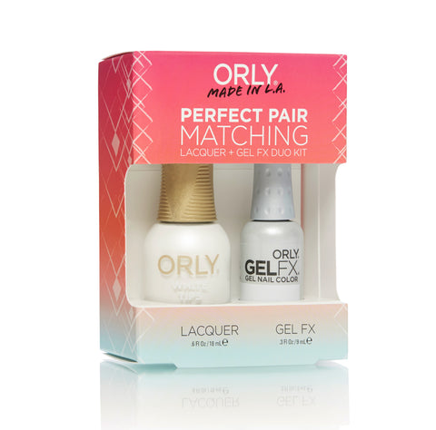 Orly Gel FX Perfect Pairing Lacquer White Tips