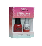 Orly Gel FX Perfect Pairing Lacquer Monroe`s Red