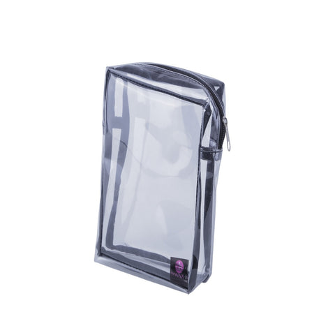 Donna B Folie Square Clear Pouch