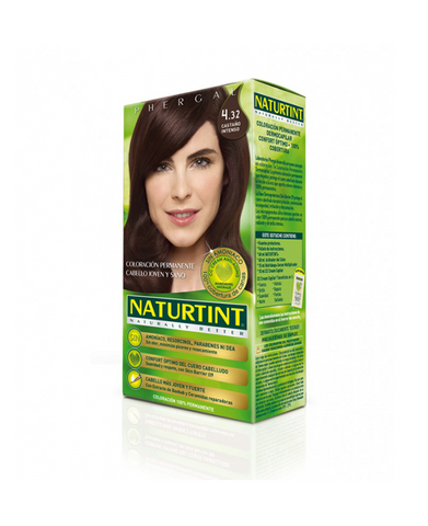 Naturtint Ammonia-free Hair Color 4.32 Intens Kastanje