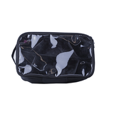 Donna B Bruler with Divider Makeup Pouch