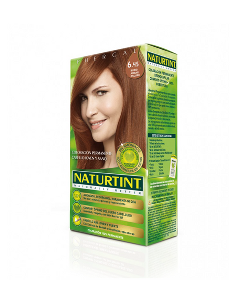 Naturtint Ammonia-free Hair Color 6.45 Donker Amber Blond