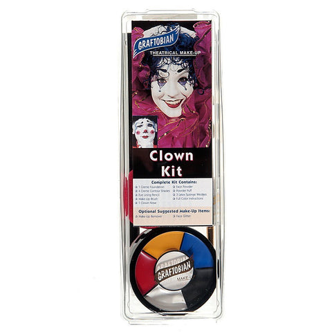 Graftobian Clown Makeup Kit