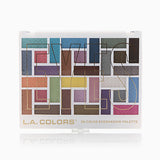 L.A. Colors 30 Color Eyeshadow Palette - In the Moment