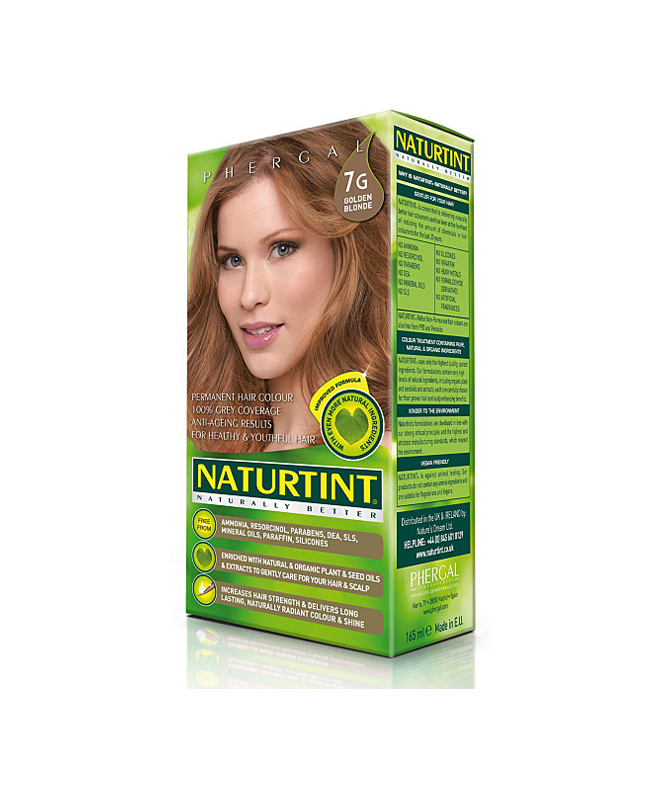 Naturtint Ammonia-free Hair Color 7G Golden Blonde