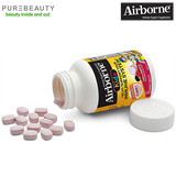 Airborne Kids Very Berry Chewable Tablets Vitamin C 1000mg