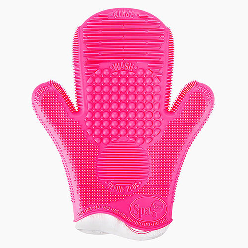 Sigma Brush Cleaning Glove-Pink