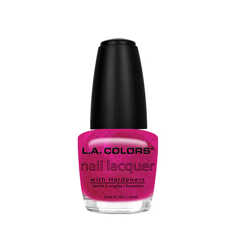 L.A. Colors Nail Lacquer Pink in Sizzle