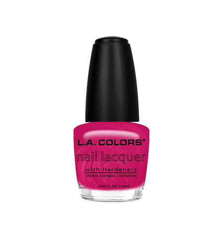 L.A. Colors Nail Lacquer Flashy Fuschia