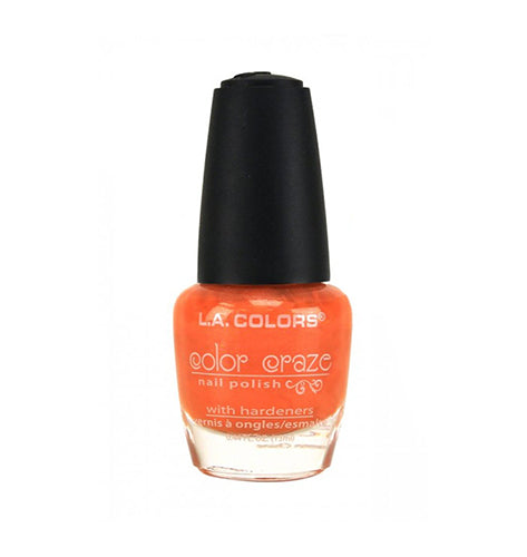 L.A. Colors Color Craze Nail Polish Perfect Sunset
