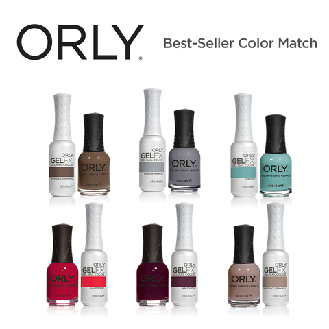 Orly Best-Seller Color Match! ( ₱7,260 Value )